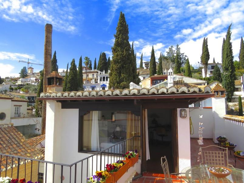 3. House for sale in Granada 4 - For sale: 3 bedroom house in Granada city with views over the Alhambra