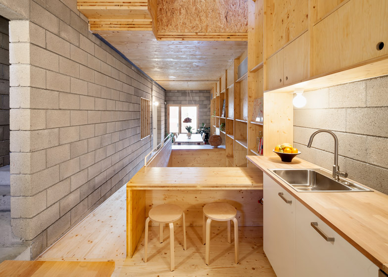 1. Skinny houses in Sant Cugat