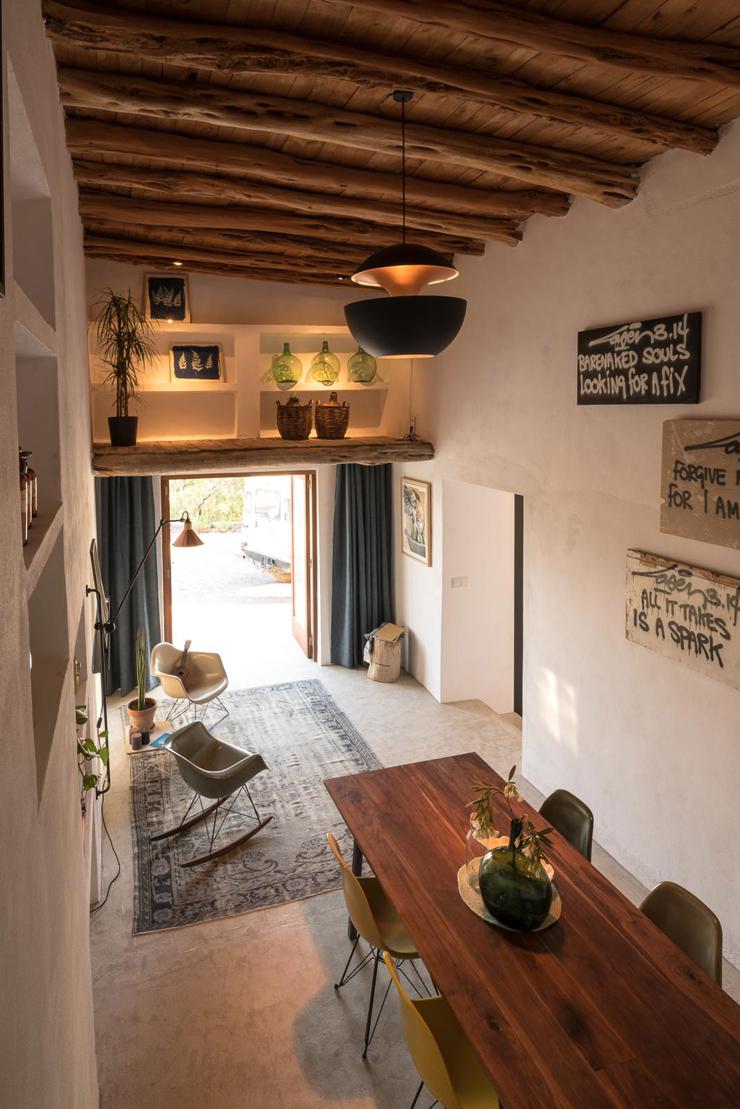 3. Transformation from stable to guesthouse in Ibiza by Standard Studio - Transformation from stable to guesthouse in Ibiza by Standard Studio