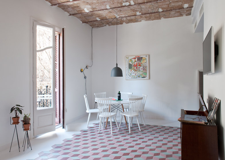 3. Tyche Apartment Barcelona - Renovated Apartment in Barcelona by CaSA Architecture