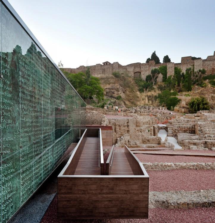 3. Visitor Center of the Roman Theatre of Malaga e1441179885389 - Visitor Centre of the Roman Theatre of Malaga by Tejedor Linares & Asociados