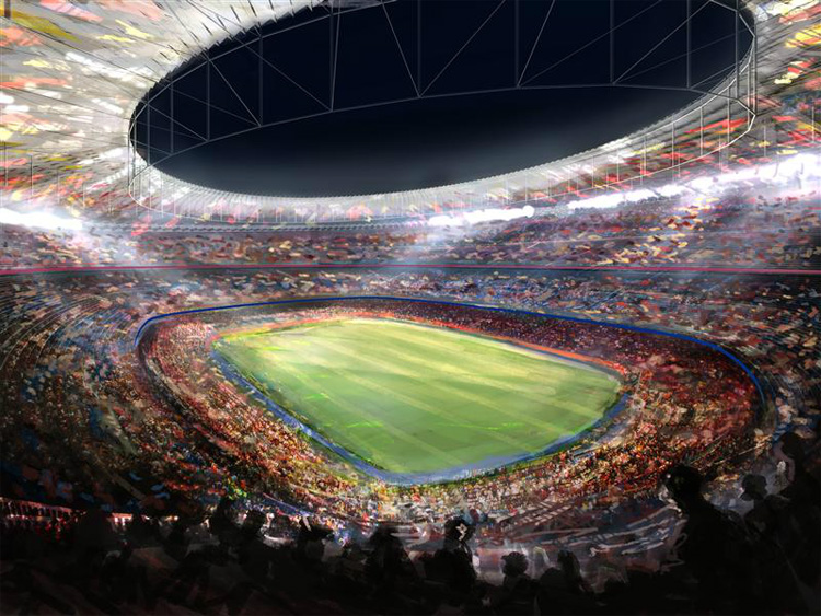 FC Barcelona's Camp Nou Stadium Redesigning