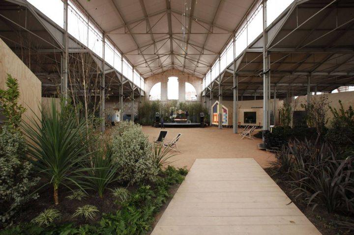 314 - Architecture: The centre of contemporary art Matadero in Madrid