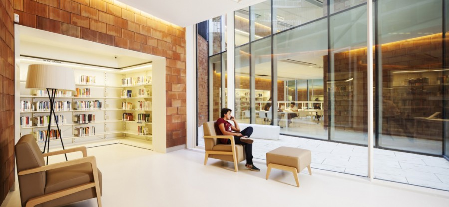 343 e1405496201432 - Joan Maragall Library by BCQ Arquitectura Barcelona