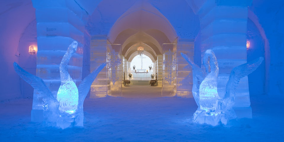 34448 - The best ice hotels for true winter lovers