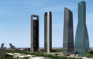 4 Torres Madrid 300x191 - Forecasts for the commercial real estate market in Spain improve