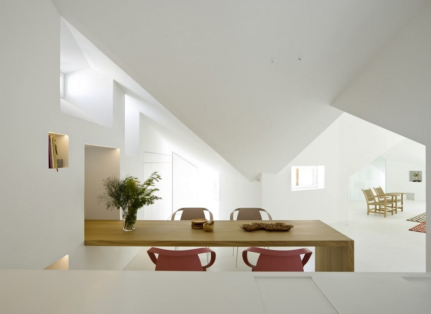 4. Apartment in Madrid by Abaton Architects - Modern Penthouse Apartment in Madrid by Abaton Architects