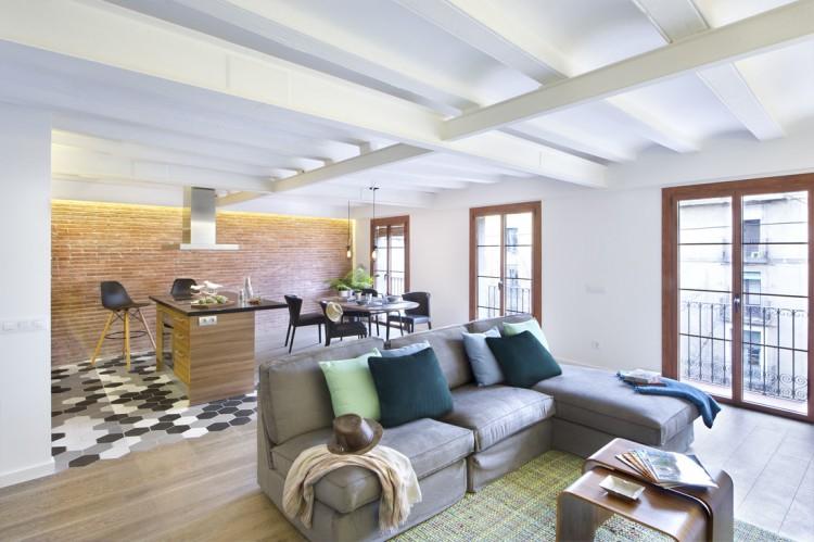 4. Apartment renovation in Barcelona