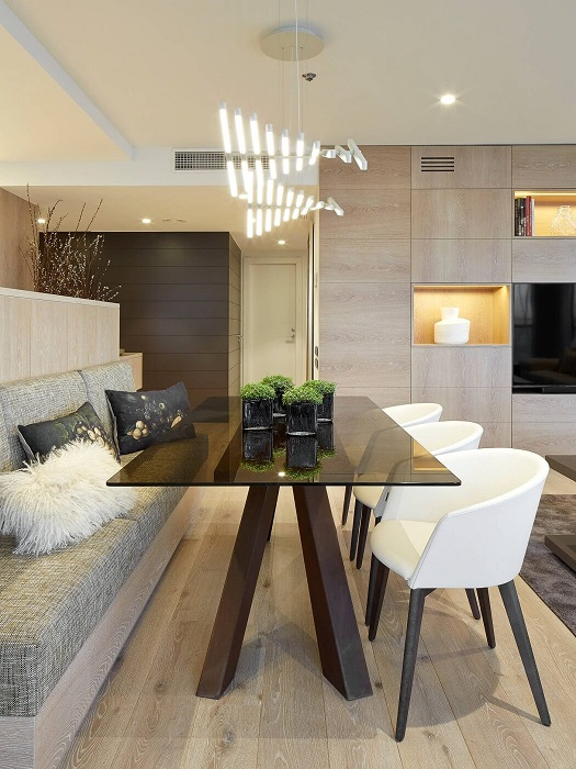 4. Contemporary apartment via Molins Interiors