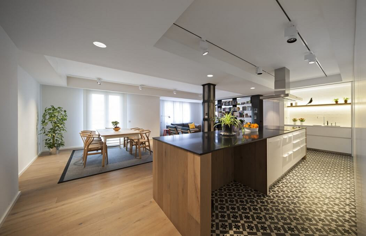 4. Flat in Logroño La Rioja - Modern Style Apartment in Logroño by n232 Arquitectura