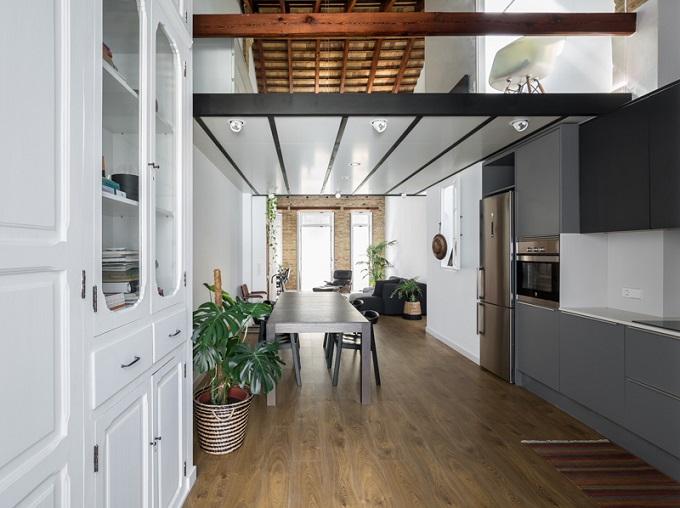 4. Loft renovation in Valencia