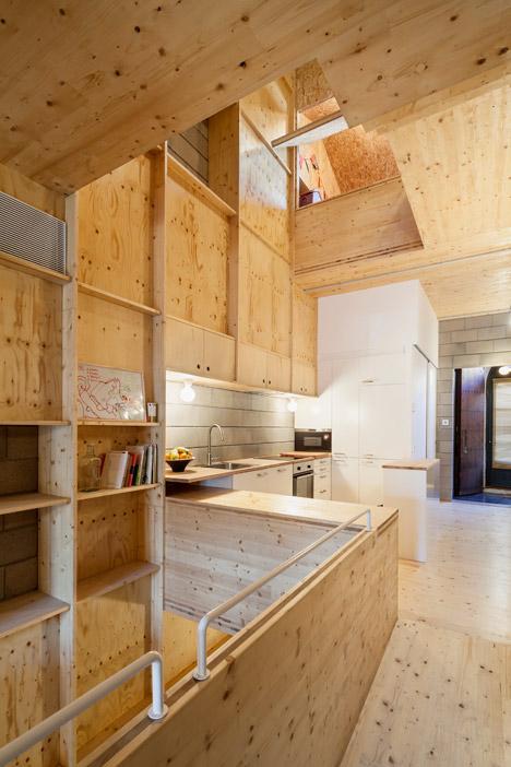 4. Skinny houses in Sant Cugat