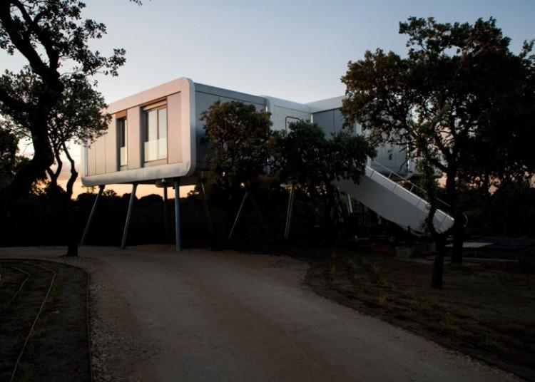 4. The spaceship home