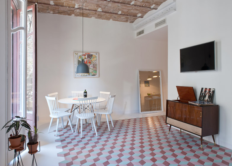 4. Tyche Apartment Barcelona - Renovated Apartment in Barcelona by CaSA Architecture