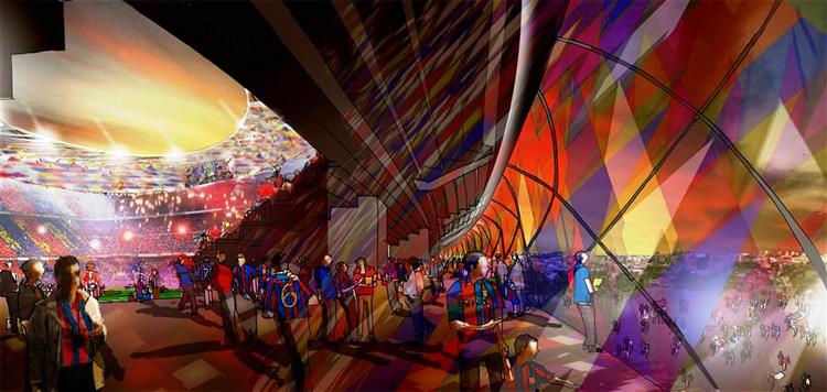 41 - FC Barcelona's Camp Nou Stadium Redesigning