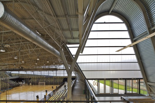 Architecture in Spain: Sports Centre in Langreo, Asturias