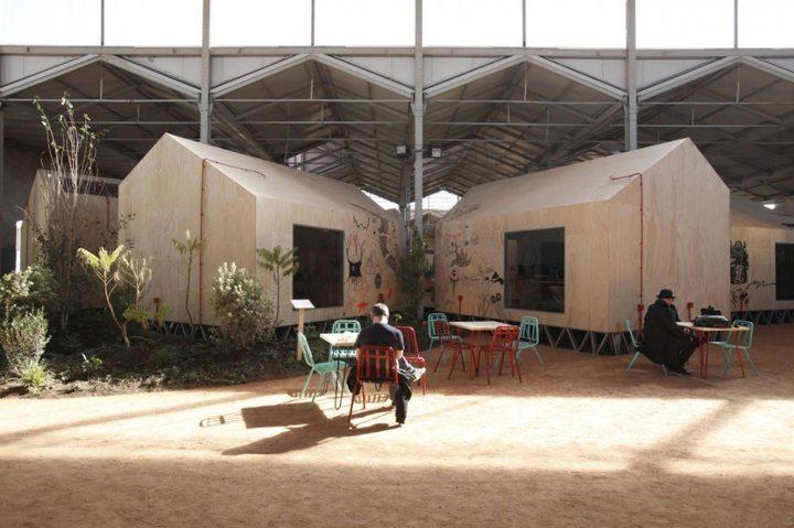 414 - Architecture: The centre of contemporary art Matadero in Madrid