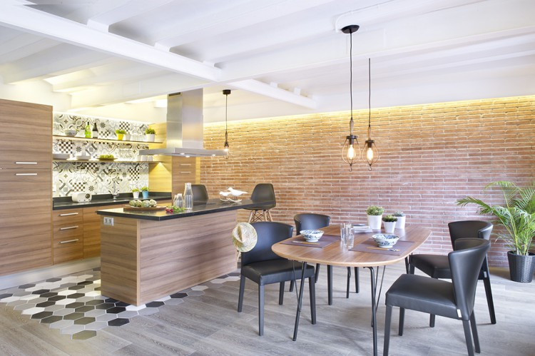 5. Apartment renovation in Barcelona