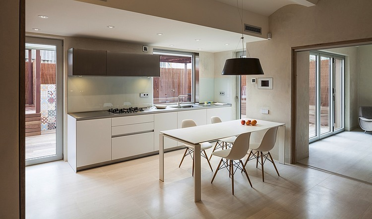 5. Family home in Gracia Barcelona - A family home in Barcelona by Zest Architecture