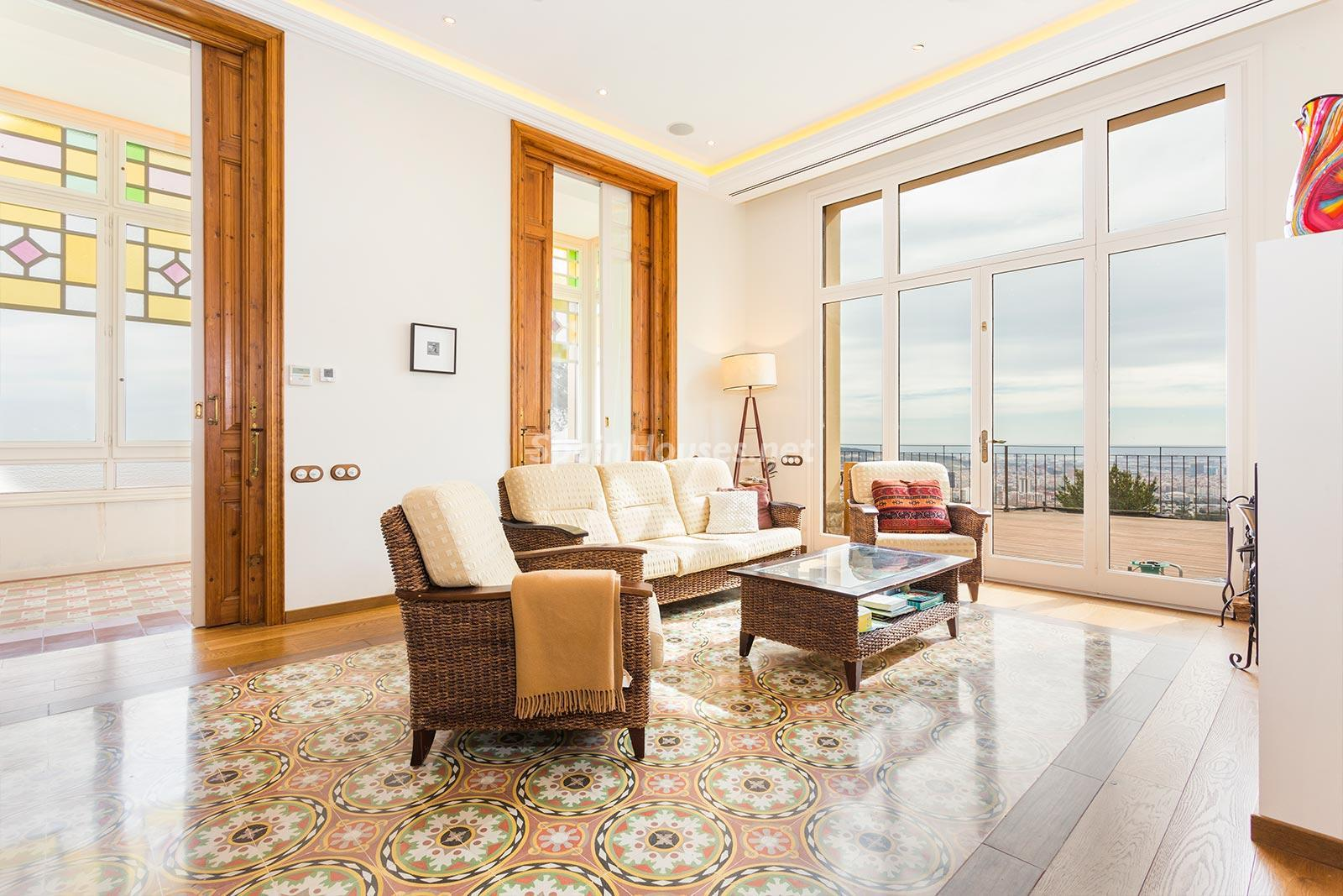 5. House for sale in Sarrià Barcelona - Exclusive 8 Bedroom Villa For Sale in Sarrià, Barcelona