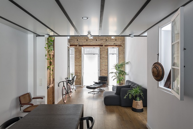 5. Loft renovation in Valencia
