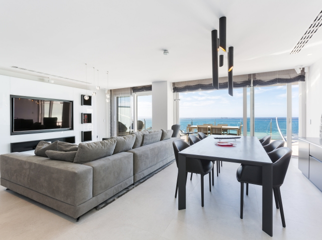 5. Portixol Penthouse by Bornelo Interior Design - Penthouse in Palma de Mallorca designed by Bornelo