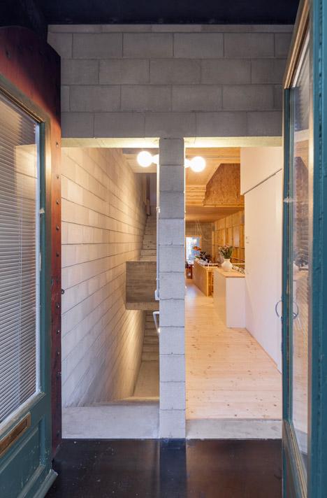 5. Skinny houses in Sant Cugat