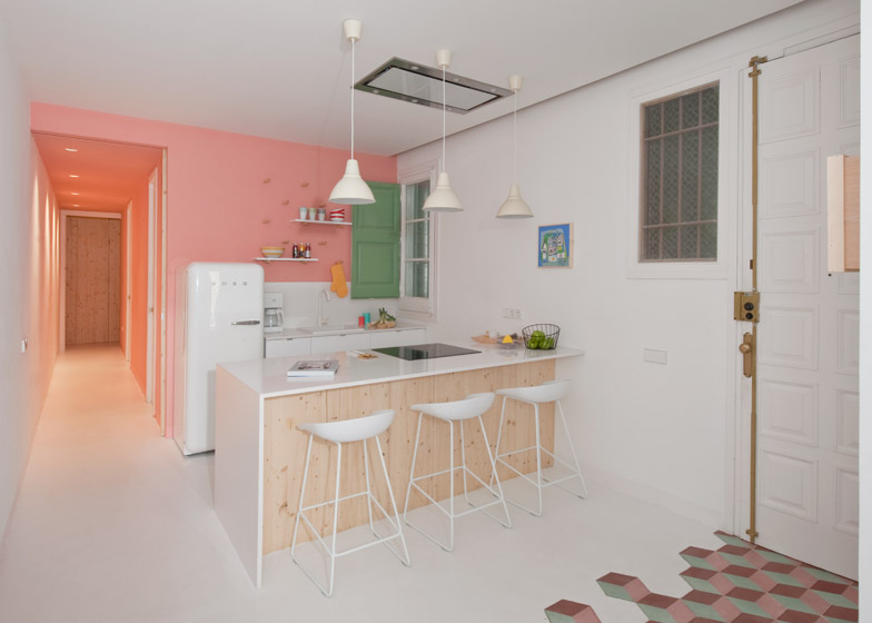 5. Tyche Apartment Barcelona - Renovated Apartment in Barcelona by CaSA Architecture