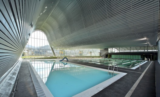 512 - Architecture in Spain: Sports Centre in Langreo, Asturias