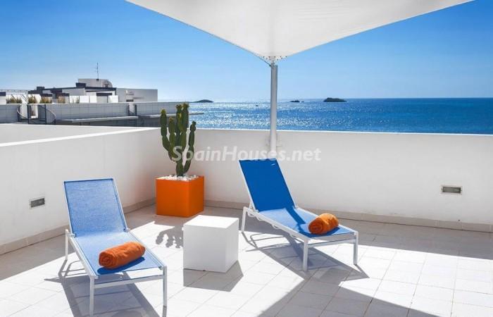 535 - Spectacular Holiday Rental Penthouse in Ibiza, Balearic Islands