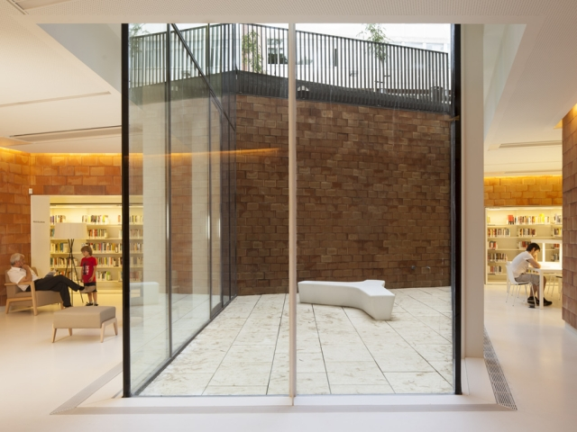 540 - Joan Maragall Library by BCQ Arquitectura Barcelona