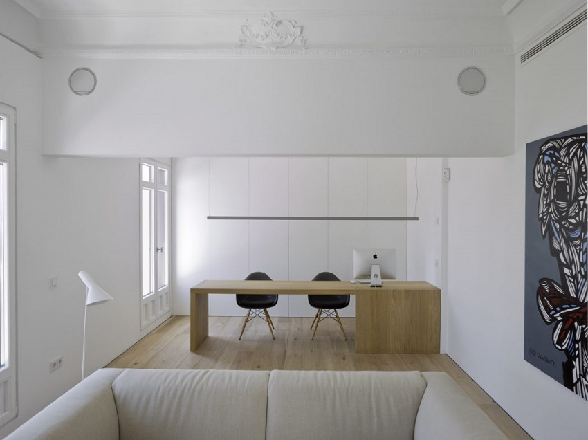 6. Apartment in Madrid by Abaton Architects - Modern Penthouse Apartment in Madrid by Abaton Architects