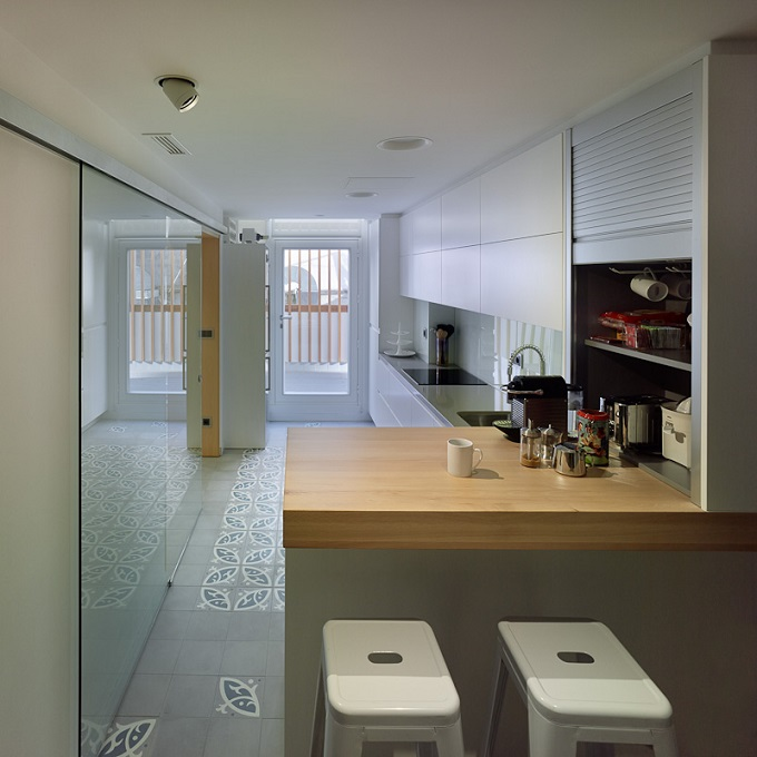 6. Apartment in Ourense by plpa.es  - A Home in Ourense, Galicia, by PLP Atelier