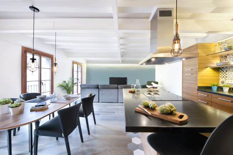 6. Apartment renovation in Barcelona