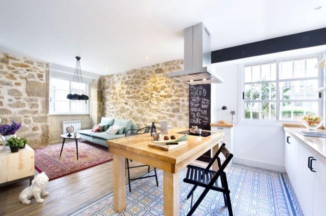 6. Apartment rental in A Coruña
