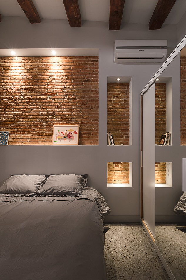 6. Brick apartment in Barcelona by FFWD - Full apartment renovation in Barcelona by FFWD