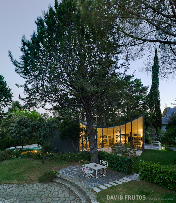6. Casa Aljibe in Alpedrete Madrid - Single House Re-Using a Former Water Cistern by Valdivieso Arquitectos