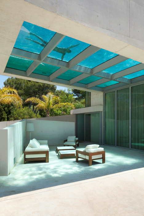 6. Jellyfish House - The Jellyfish House by Wiel Arets Architects in Marbella, Málaga