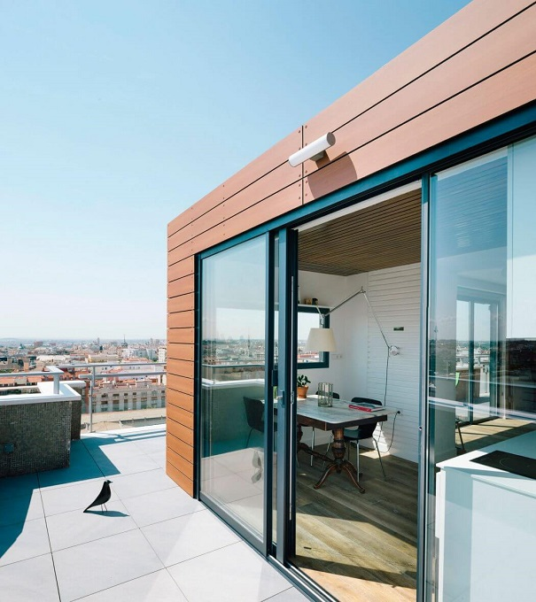 6. Madrid Penthouse by i arquitectura - A Chalet in the Sky of Madrid by i! arquitectura