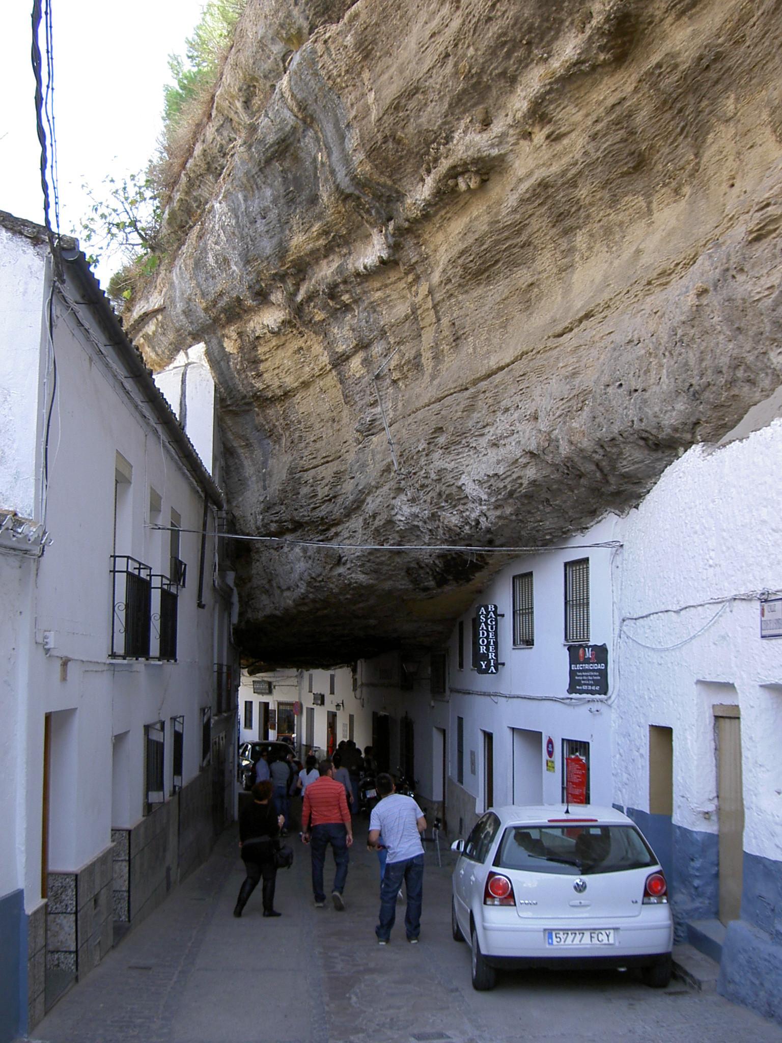 6. Setenil de las Bodegas - Living Under a Rock: Setenil de las Bodegas, Cádiz