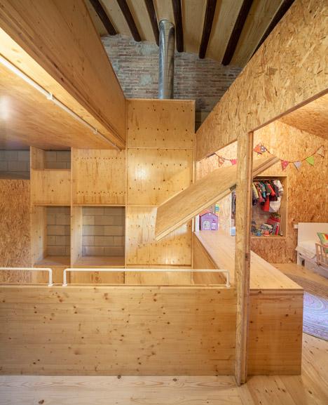 6. Skinny houses in Sant Cugat