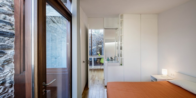 6. Stone wine cellar converted into home in Galicia - Stone wine cellar converted into a home by Cubus Arquitectura
