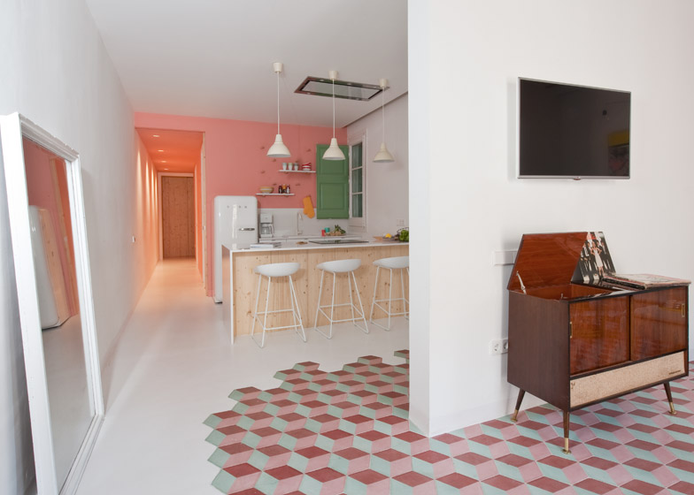 6. Tyche Apartment Barcelona - Renovated Apartment in Barcelona by CaSA Architecture