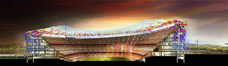 6 - FC Barcelona's Camp Nou Stadium Redesigning