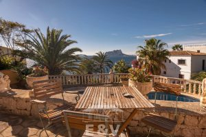 Moraira, a Mediterranean paradise which you can enjoy from this fantastic villa