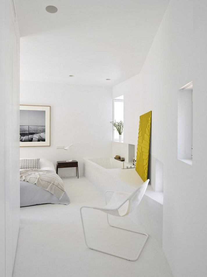 7. Apartment in Madrid by Abaton Architects - Modern Penthouse Apartment in Madrid by Abaton Architects
