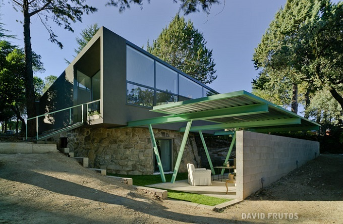7. Casa Aljibe in Alpedrete Madrid - Single House Re-Using a Former Water Cistern by Valdivieso Arquitectos