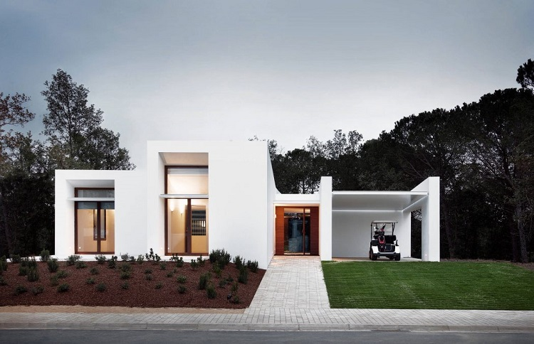 7. House in La Pineda by Jaime Prous Architects - Contemporary dwelling in La Pineda, Tarragona, by Jaime Prous Architects