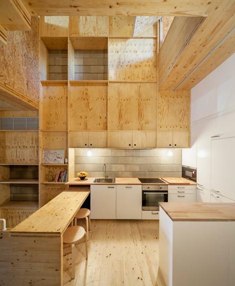7. Skinny houses in Sant Cugat