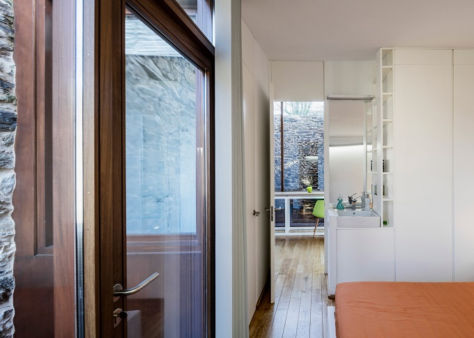 7. Stone wine cellar converted into home in Galicia - Stone wine cellar converted into a home by Cubus Arquitectura